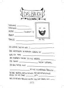 Seite 43 - Steckbrief - Kinderfreunde Freundschaftsbuch