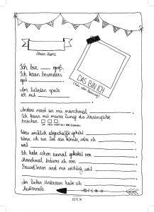 Seite 50 - Steckbrief - Kinderfreunde Freundschaftsbuch