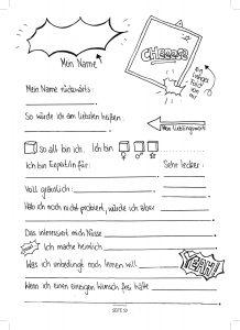 Seite 94 - Steckbrief - Kinderfreunde Freundschaftsbuch